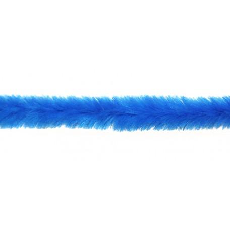 Скрутки бархатные 0,5х30см цв. А018 синий уп.100шт