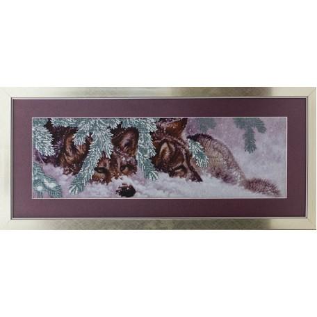Набор для вышивания бисером 'Славяночка' арт. С-013 Верность 18х57 см