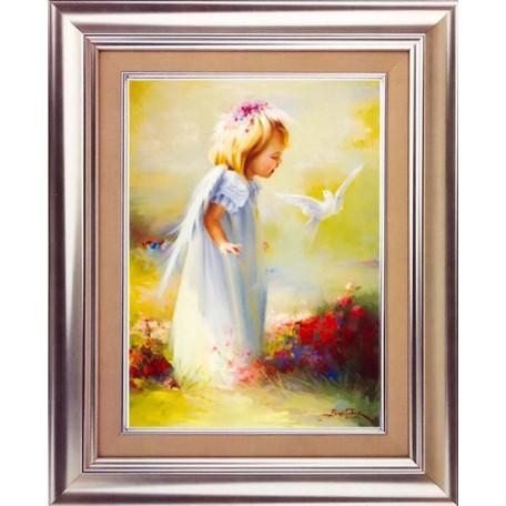 Набор для вышивания бисером 'Славяночка' арт. С-105 'Мой ангел' 24х33 см