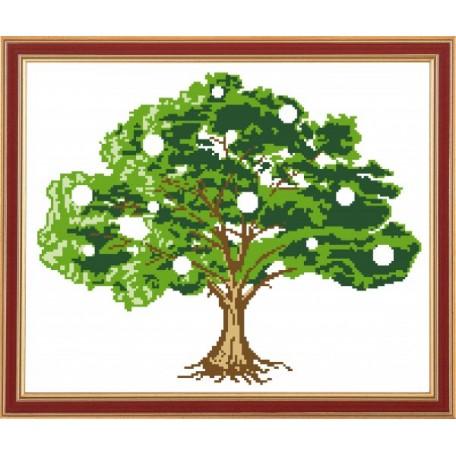 Рисунок на ткани 'Славяночка' арт. КС-005 Денежное-дерево 29х32 см