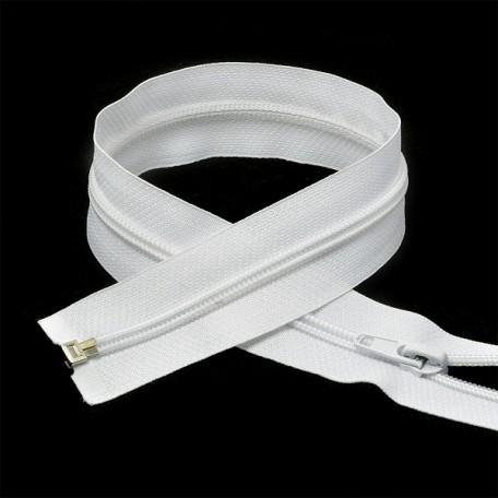 Молния пласт. спираль №5-N 100см цв.F101 белый А