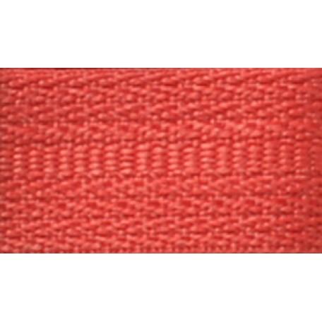 Молния пласт. спираль №5-N 100см цв.F148 красный А