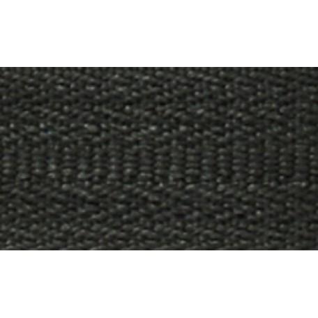 Молния пласт. спираль №5-N 160см цв.F322 черный А