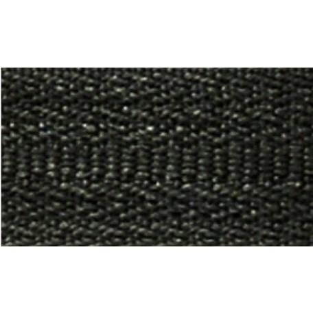 Молния пласт. спираль №5-N 180см цв.F322 черный