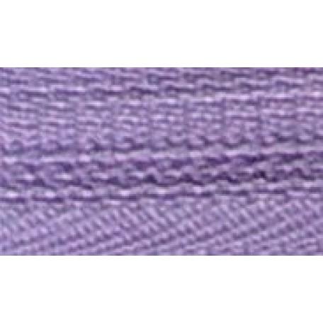 Молния пласт. спираль №5-N 40см цв.163 сиреневый