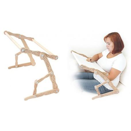 Станок для вышивания деревянный ДУБКО 'Рукодельница' 53*33 см