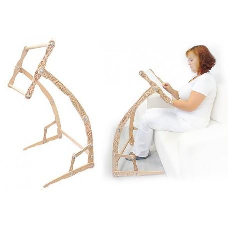 Станок для вышивания деревянный напольный ДУБКО 'Мастерица' 53*33 см