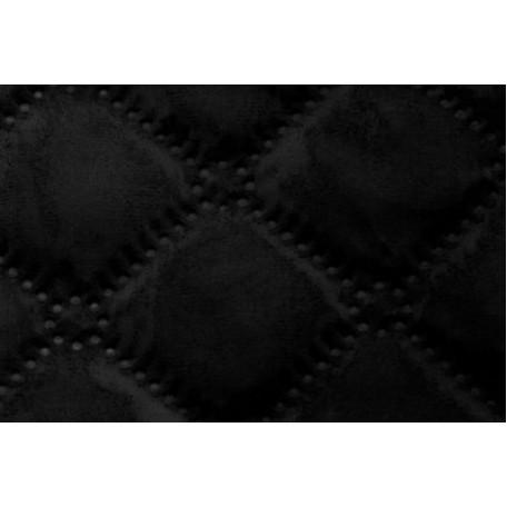 Ткань подкладочная термостежка рис. 2 (ромб фигурный) шир.150 см. цв.черный