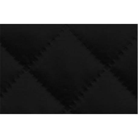 Ткань подкладочная термостежка рис. 5 (ромб большой) шир.150 см. цв.черный