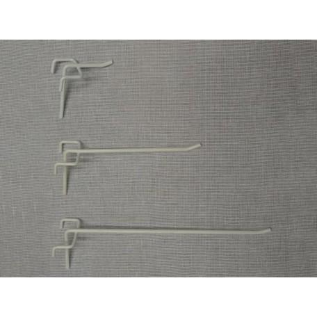 Крючок на сетку 1-й, l-100, полимерное покрытие Ral 9016