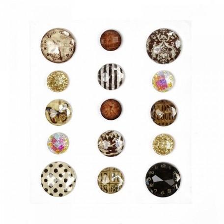 Камушки в наборе арт.7991 акрил