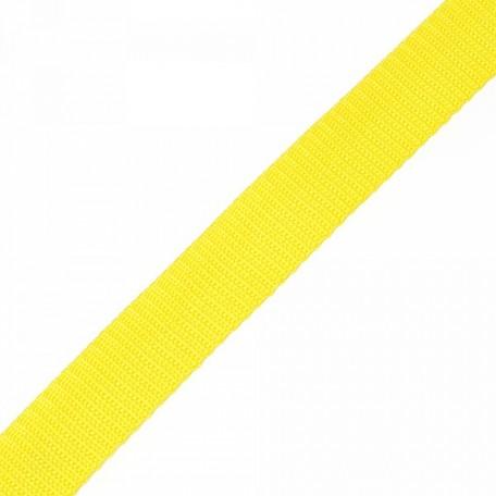 Стропа 25мм цв.F110 желтый А