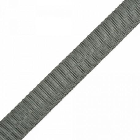 Стропа 25мм цв.F312 т.серый А