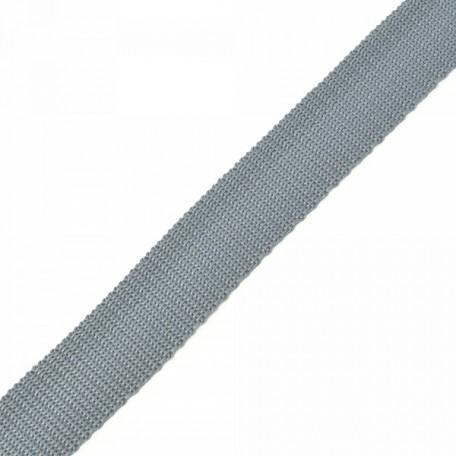 Стропа 25мм цв.F316 св.серый А