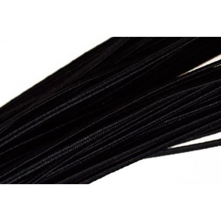 Шнур отделочный 'сутаж' арт.1с13 1,8мм цв. черный упак.20м