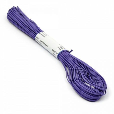 Шнур отделочный 'сутаж' арт.1с13 1,8мм цв.фиолетовый