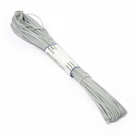 Шнур отделочный 'сутаж' арт.1с13 1,8мм цв.св.серый