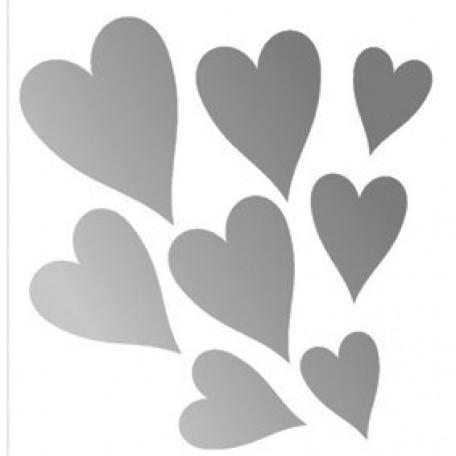 Набор термонаклеек арт.СВЭТ.021 'Сердце'