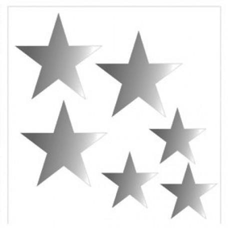 Набор термонаклеек арт.СВЭТ.061 'Звезды' 7х7 см