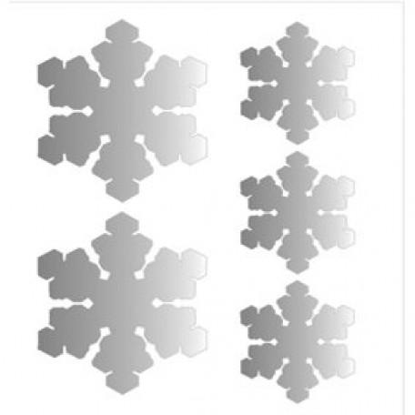 Набор термонаклеек арт.СВЭТ.066 'Снежинки'
