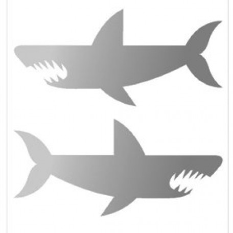 Набор термошевронов арт.СВЭТ.06 'Акулы' 7х7 см