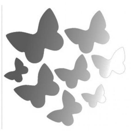 Набор термошевронов арт.СВЭТ.062 'Бабочки' 7х7 см