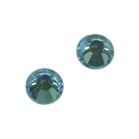 Стразы IDEAL клеевые арт.SS-10 (2,7-2,9 мм) цв. AQUA MARINE упак.1440 шт.