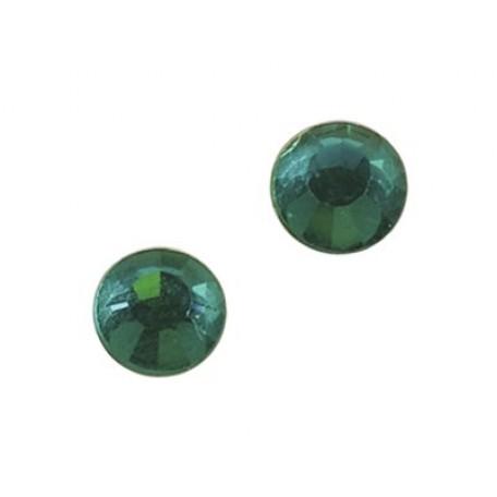 Стразы IDEAL клеевые арт.SS-10 (2,7-2,9 мм) цв. BLUE ZIRCON упак.1440 шт.