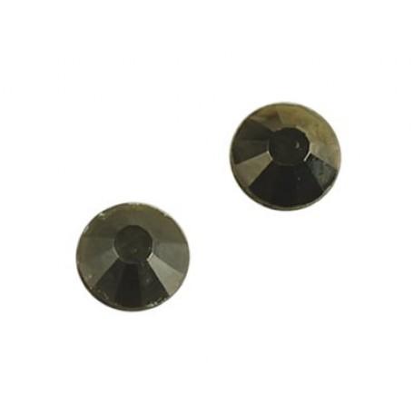 Стразы IDEAL клеевые арт.SS-10 (2,7-2,9 мм) цв. JET HEMATITE упак.1440 шт.