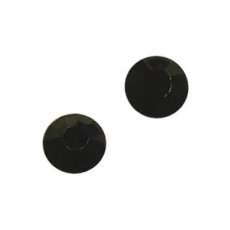 Стразы IDEAL клеевые арт.SS-10 (2,7-2,9 мм) цв. JET упак.1440 шт.
