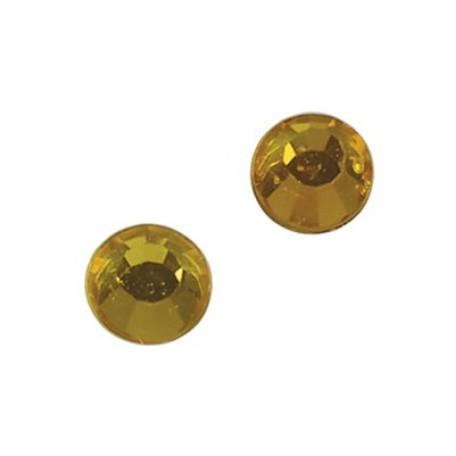 Стразы IDEAL клеевые арт.SS-10 (2,7-2,9 мм) цв. TOPAZ упак.1440 шт.