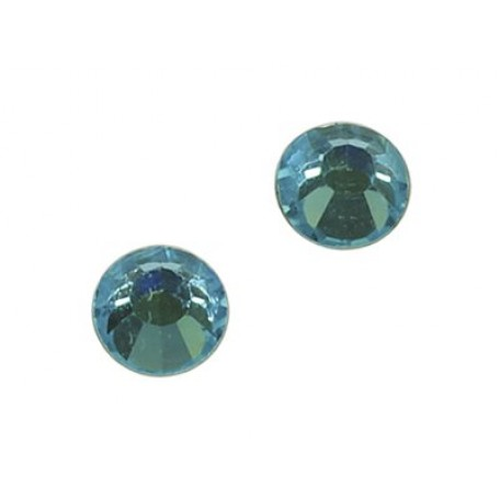Стразы IDEAL клеевые арт.SS-16 (3,8-4,0 мм) цв. AQUA MARINE упак.1440 шт.