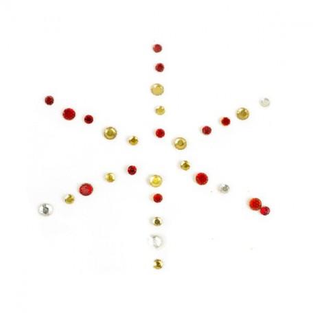 Термотрансферы со стразами арт.ТВД-1611931 цв.разноцветный