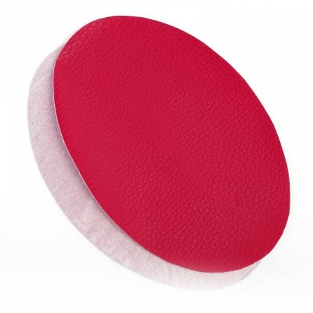 Термозаплатки кожа 12х18 уп. 2шт цв. красный