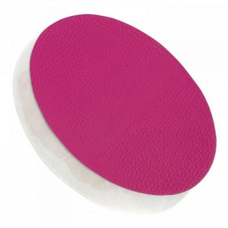 Термозаплатки кожа 12х18 уп. 2шт цв. т.розовый