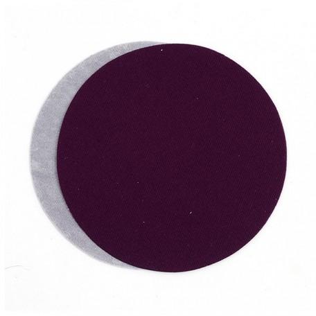 Термозаплатки круг 10см уп. 2шт цв. фиолетовый