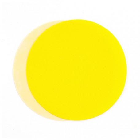 Термозаплатки круг 10см уп. 2шт цв. желтый