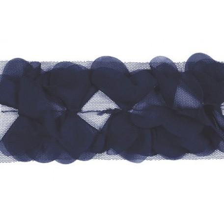 Тесьма арт.TBY-СS-23 шир.23мм цв.36 т.синий уп.18,28м