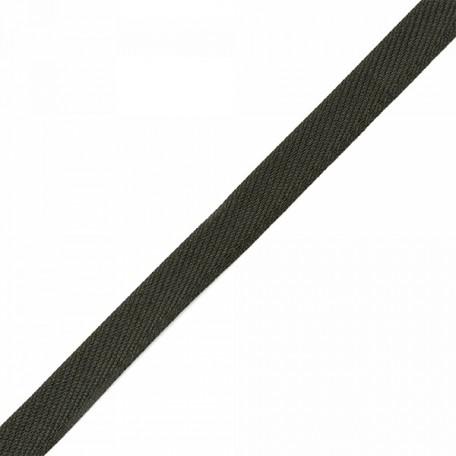 Лента для вешалок арт.2642 цв. 2 черный фас.25м