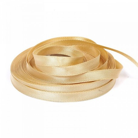 Лента для вешалок арт.2642 цв. 6 золото фас.25м