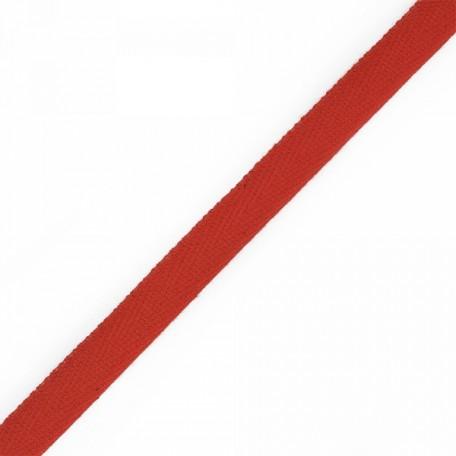 Тесьма киперная 2с-253к , 13 мм , цвет 010 красный