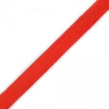 Тесьма киперная 2с-253к , 13 мм , цвет 160 красный