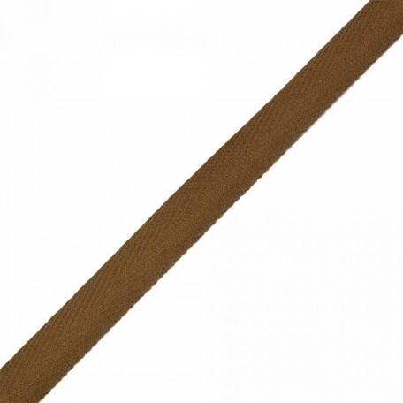 Тесьма киперная 2с-253к , 13 мм , цвет коричневый