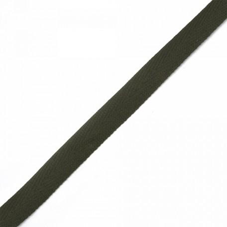 Тесьма киперная 2с-253к , 13 мм , цвет оливковый 531 уп.100м
