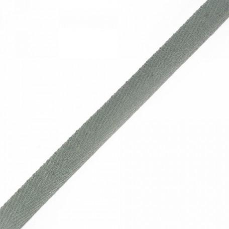 Тесьма киперная 2с-253к , 13 мм , цвет серый