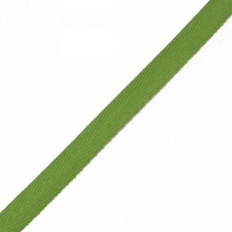 Тесьма киперная 2с-253к , 13 мм , цвет зеленый