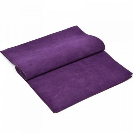 Замша искуственная двухсторонняя арт.КЛ.22972 20х30см, фиолетовый уп.2листа