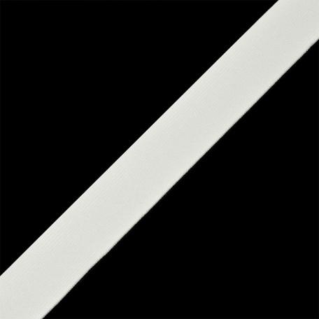 Резинка тканая шир.025мм ца.белый арт.Б.РТ.25.БЕЛ уп.20м А