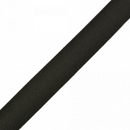 Резинка тканая шир.030мм цв.черный арт.Б.РТ.30 уп.20м А