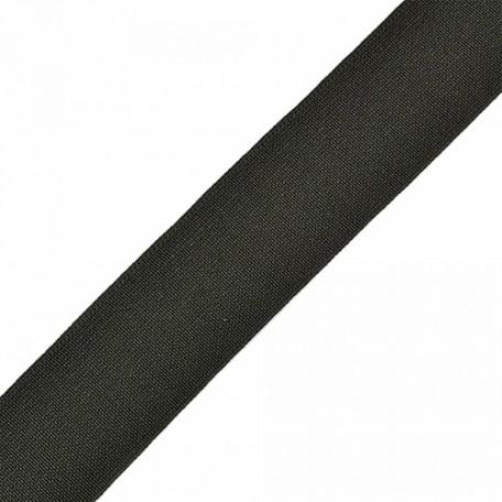 Резинка тканая шир.030мм цв.черный арт.Ф-30мм упак.25м